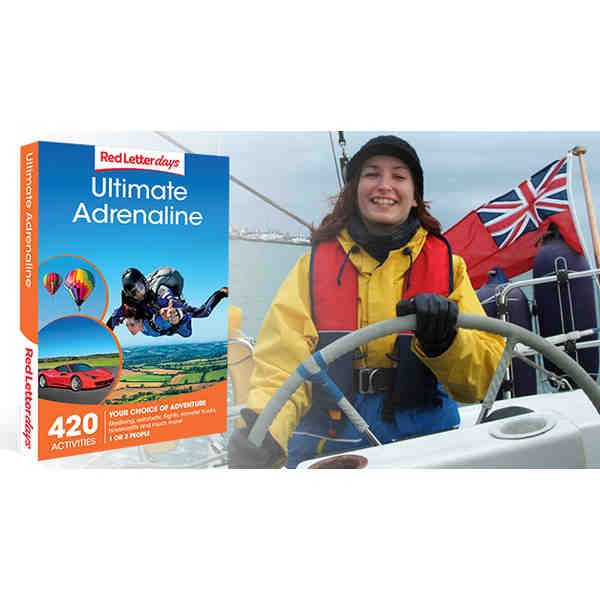 Adrenaline Experience Day Sailing