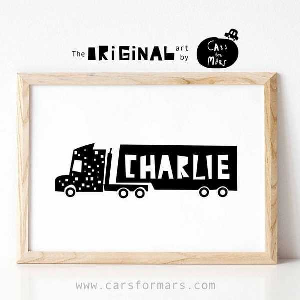 Personalised truck art US